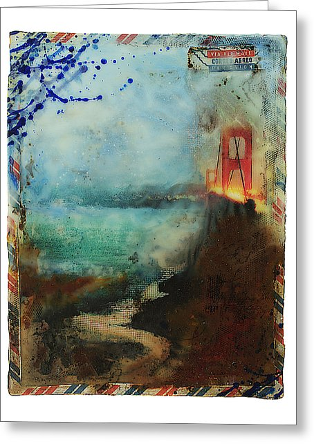 Hidden Depths San Francisco Golden Gate - Greeting Card