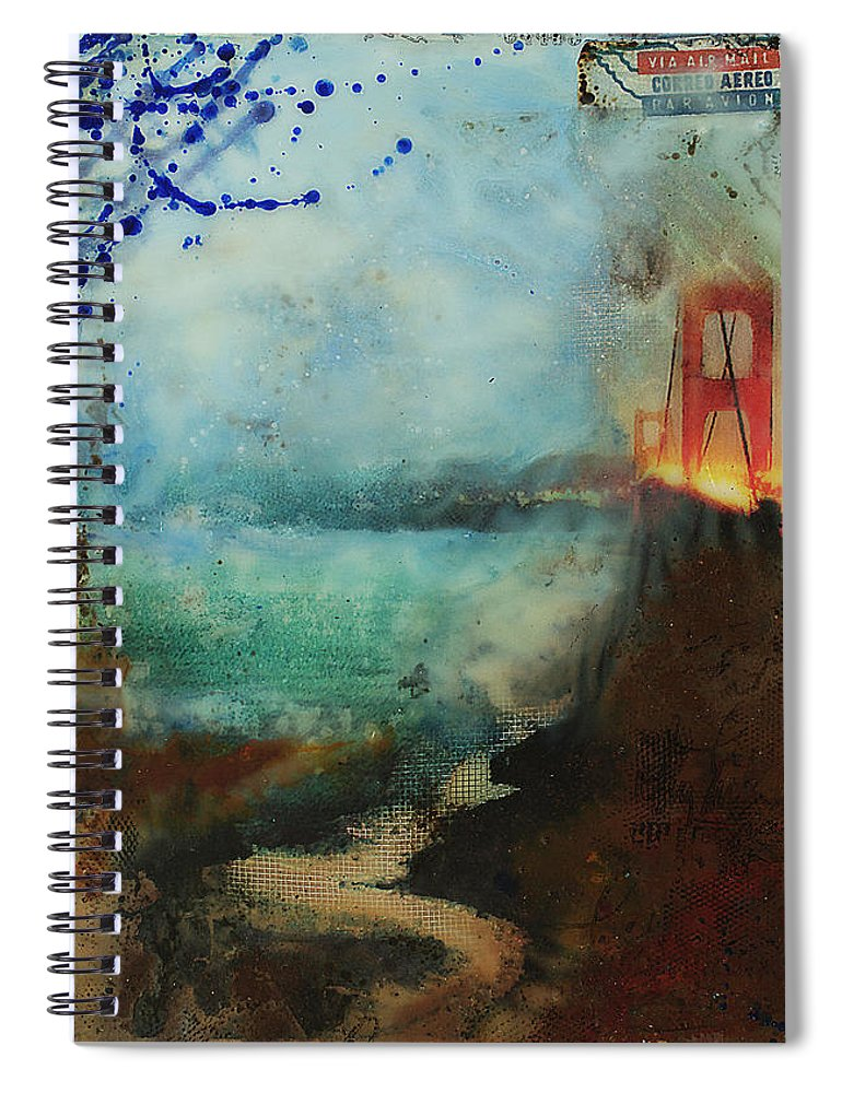 Hidden Depths San Francisco Golden Gate - Spiral Journal Notebook