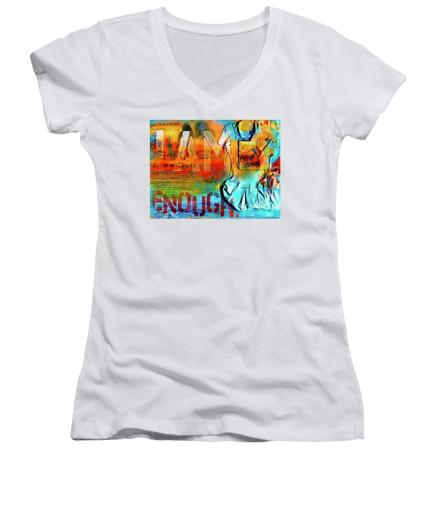 I Am Enough - Women's V-Neck