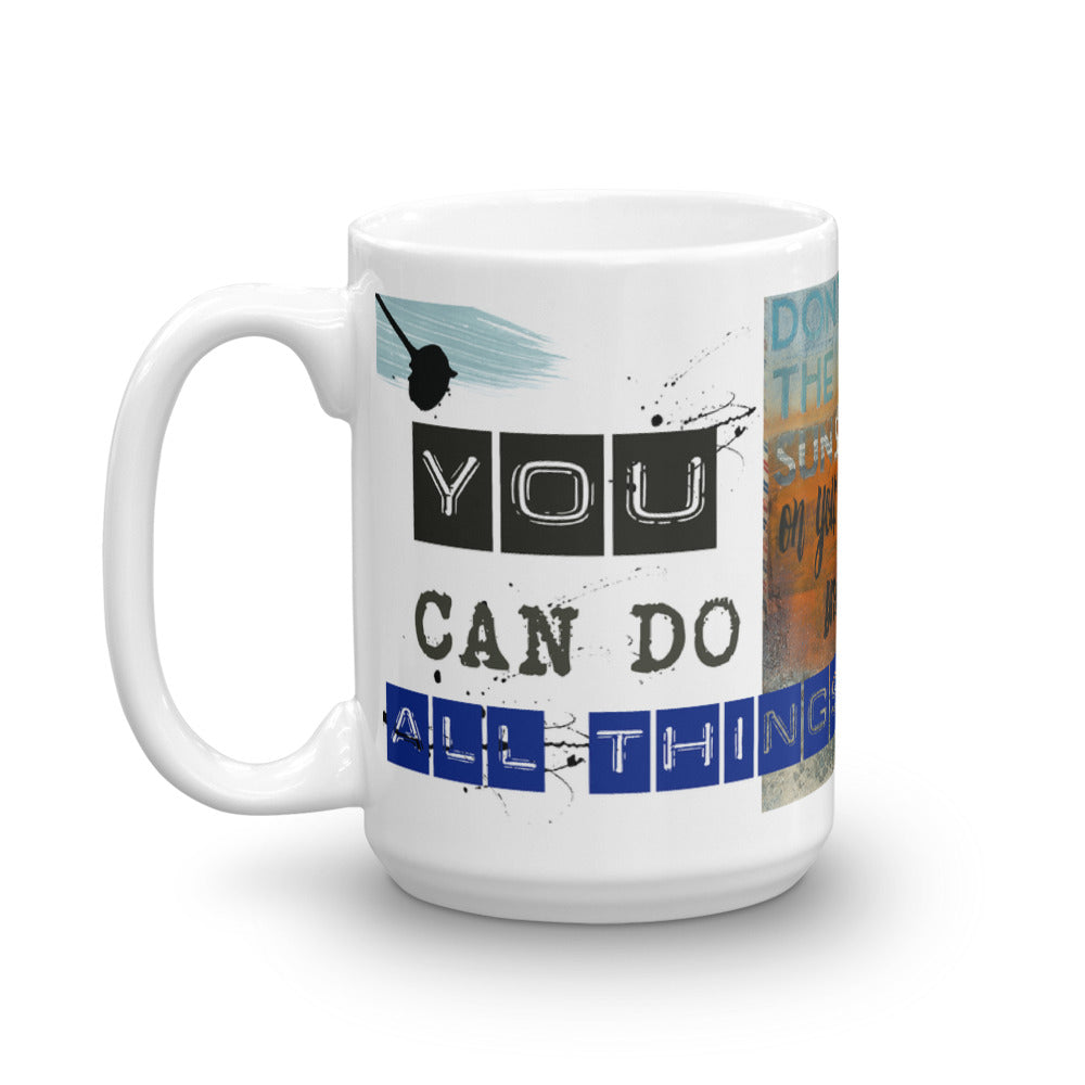 """Don't Let the Sun Set on Your Dreams"" Art - Mug"
