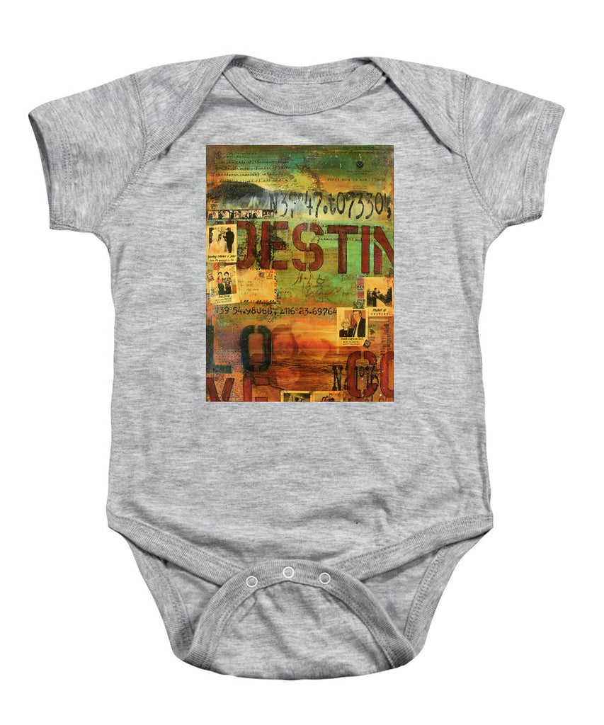 Monaghan Family Diptych - Left Side - Jocelyn Cruz Art Commission - Canvas Print - Baby Onesie