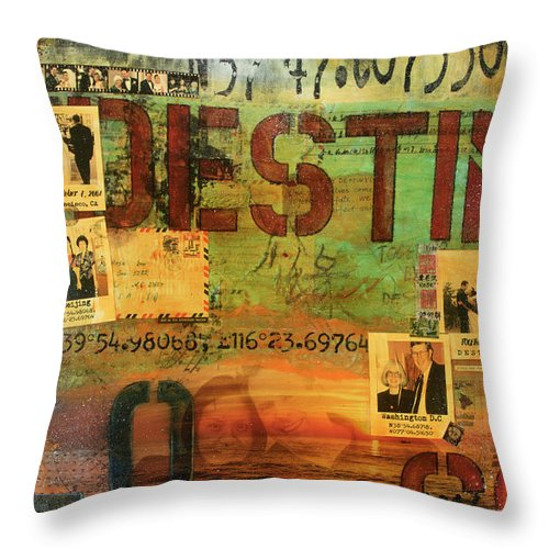 Monaghan Family Diptych - Left Side - Jocelyn Cruz Art Commission - Canvas Print - Throw Pillow