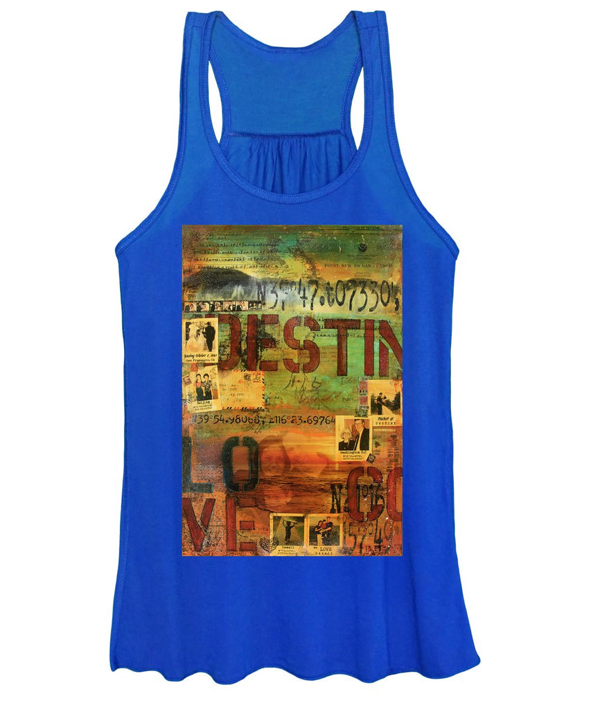 Monaghan Family Diptych - Left Side - Jocelyn Cruz Art Commission - Canvas Print - Women's Tank Top