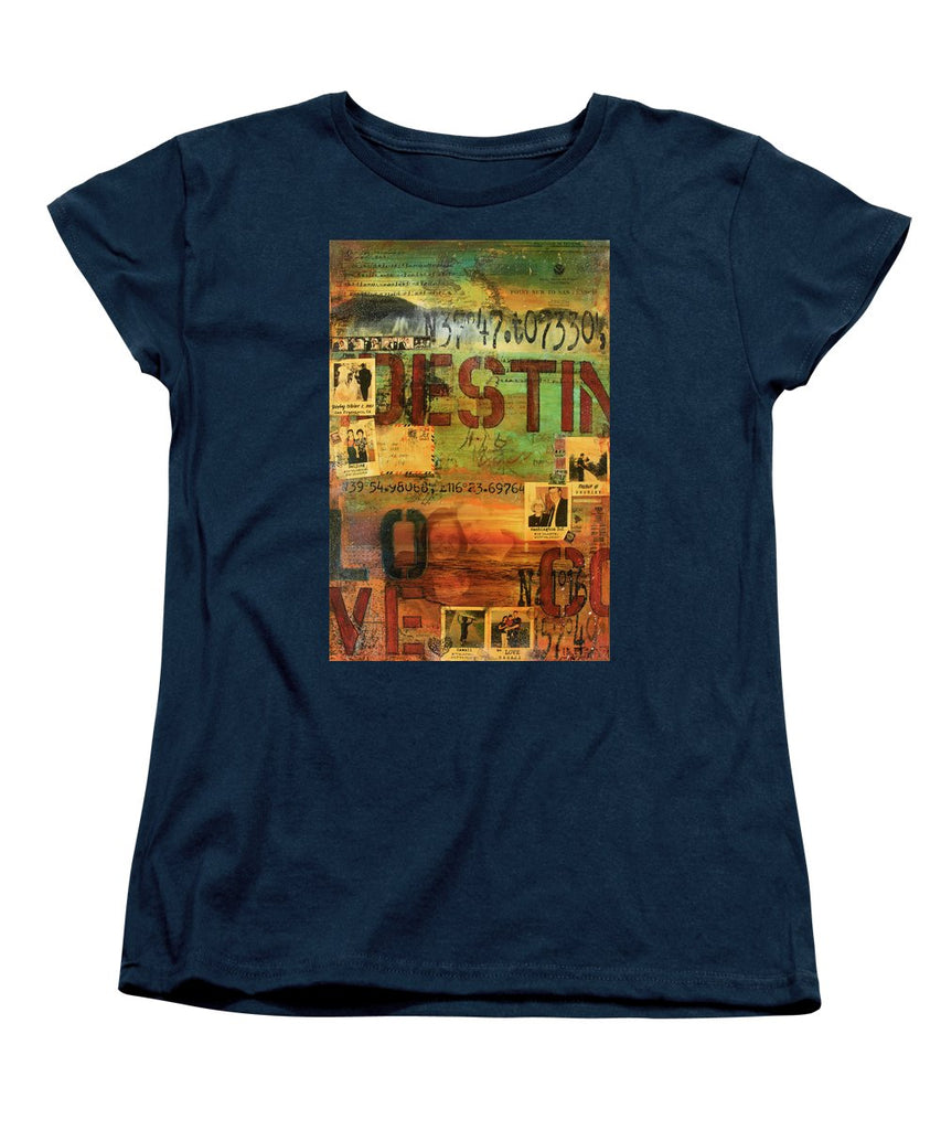 Monaghan Family Diptych - Left Side - Jocelyn Cruz Art Commission - Canvas Print - Women's T-Shirt (Standard Fit)