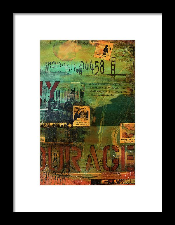 Monaghan Family Diptych - Right Side - Jocelyn Cruz Art Commission - Canvas Print - Framed Print