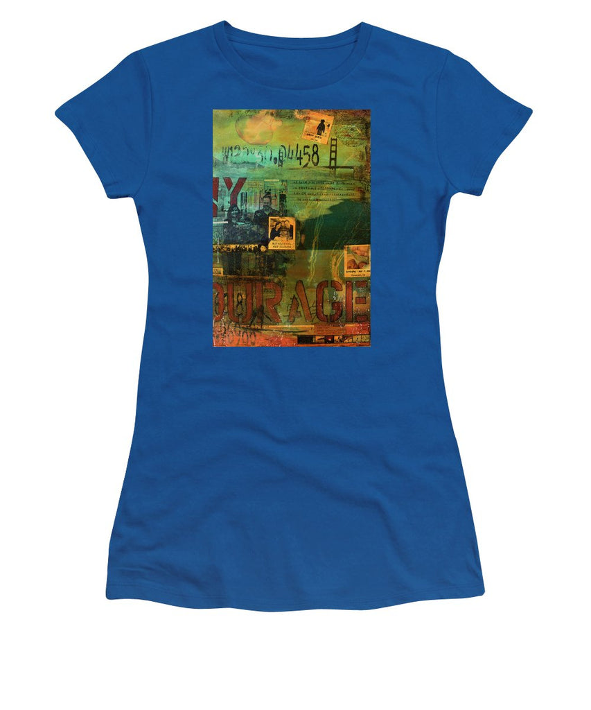 Monaghan Family Diptych - Right Side - Jocelyn Cruz Art Commission - Canvas Print - Women's T-Shirt