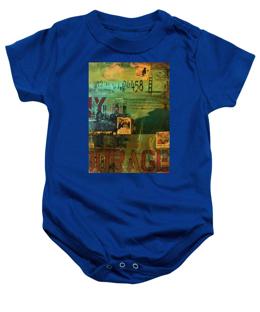 Monaghan Family Diptych - Right Side - Jocelyn Cruz Art Commission - Canvas Print - Baby Onesie