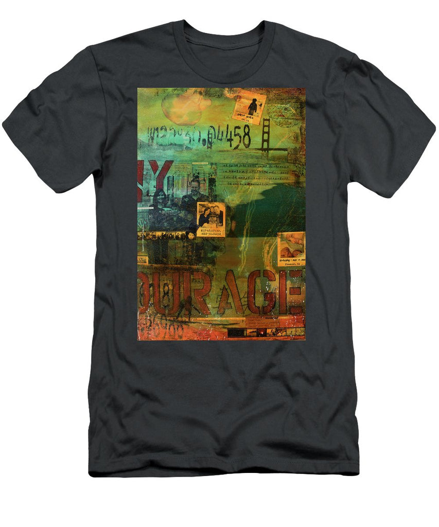 Monaghan Family Diptych - Right Side - Jocelyn Cruz Art Commission - Canvas Print - Men's T-Shirt (Athletic Fit)