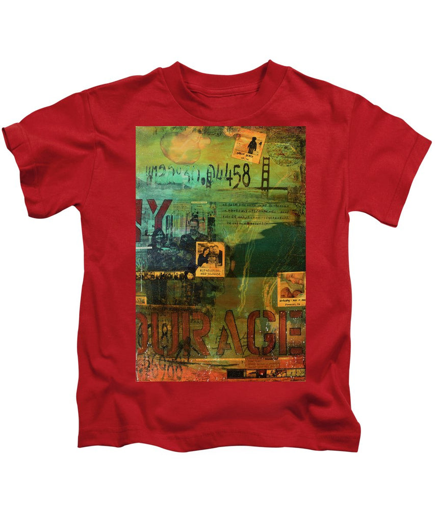 Monaghan Family Diptych - Right Side - Jocelyn Cruz Art Commission - Canvas Print - Kids T-Shirt