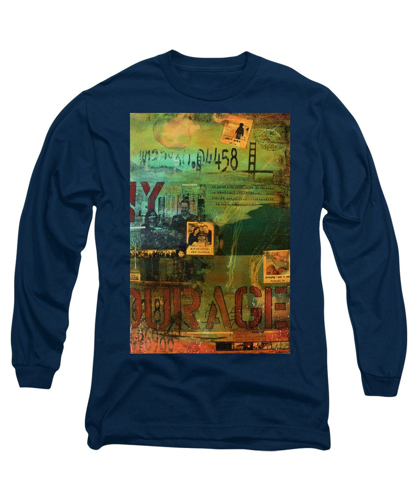 Monaghan Family Diptych - Right Side - Jocelyn Cruz Art Commission - Canvas Print - Long Sleeve T-Shirt
