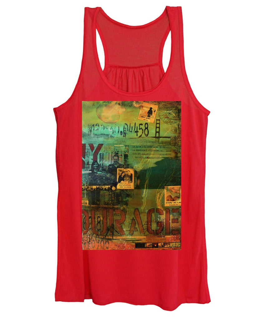 Monaghan Family Diptych - Right Side - Jocelyn Cruz Art Commission - Canvas Print - Women's Tank Top
