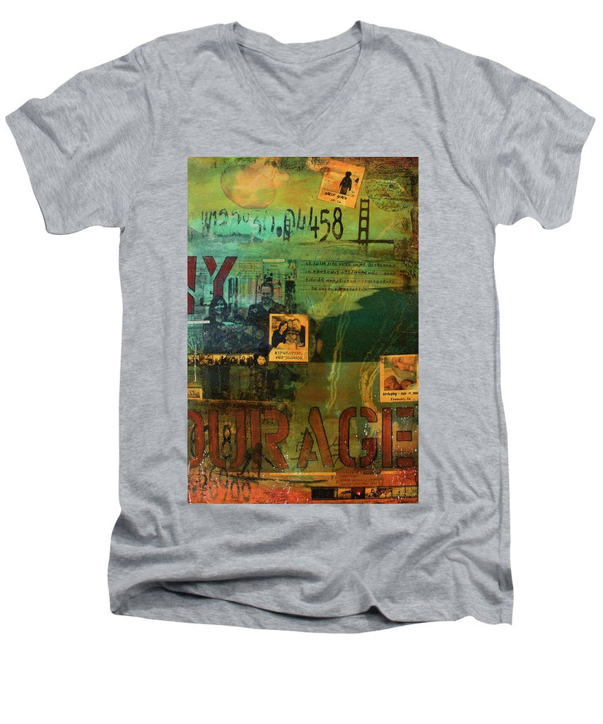 Monaghan Family Diptych - Right Side - Jocelyn Cruz Art Commission - Canvas Print - Men's V-Neck T-Shirt