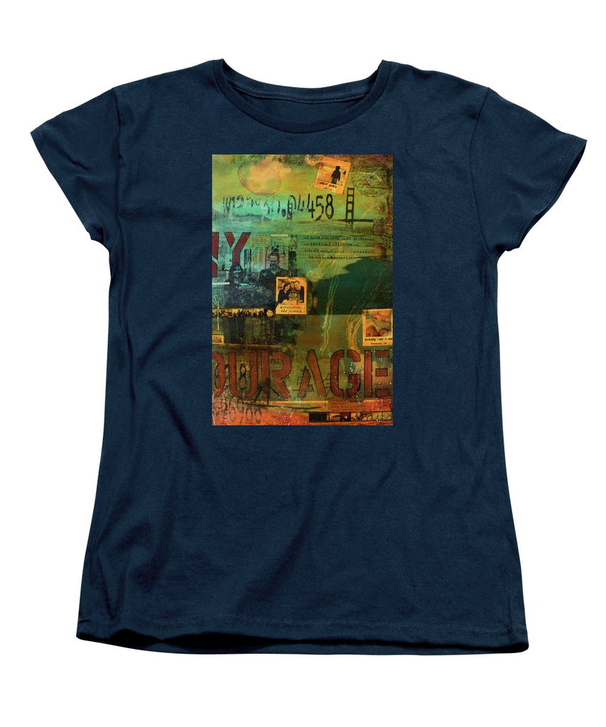 Monaghan Family Diptych - Right Side - Jocelyn Cruz Art Commission - Canvas Print - Women's T-Shirt (Standard Fit)