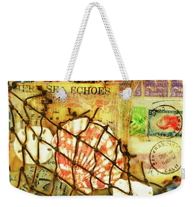 "Sea Echoes Series v1.1 ""I Left My Heart In San Francisco""- Weekender Tote Bag"
