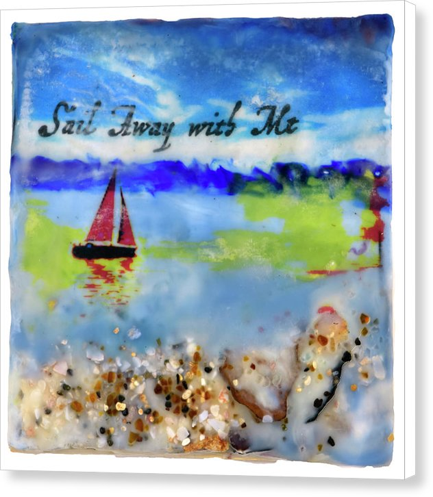 "Sea Echoes Collector Series: v1.4 ""Sail Away With Me"" - Canvas Print"
