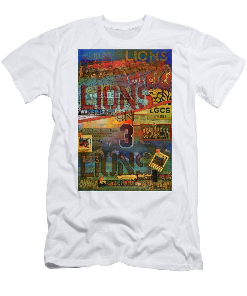 Sports - Art Commission Mixed Media Painting - Men's T-Shirt (Athletic Fit)