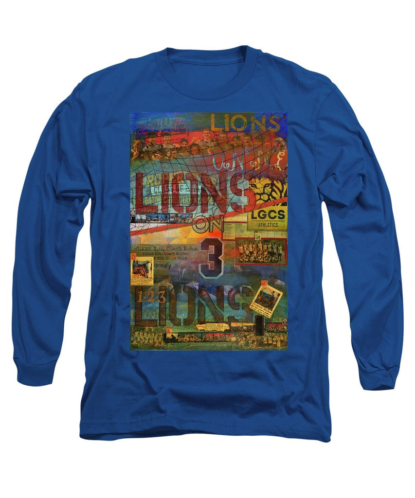 Sports - Art Commission Mixed Media Painting - Long Sleeve T-Shirt