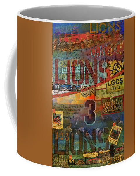 Sports - Art Commission Mixed Media Painting - Mug