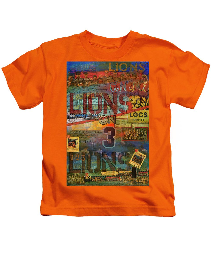 Sports - Art Commission Mixed Media Painting - Kids T-Shirt