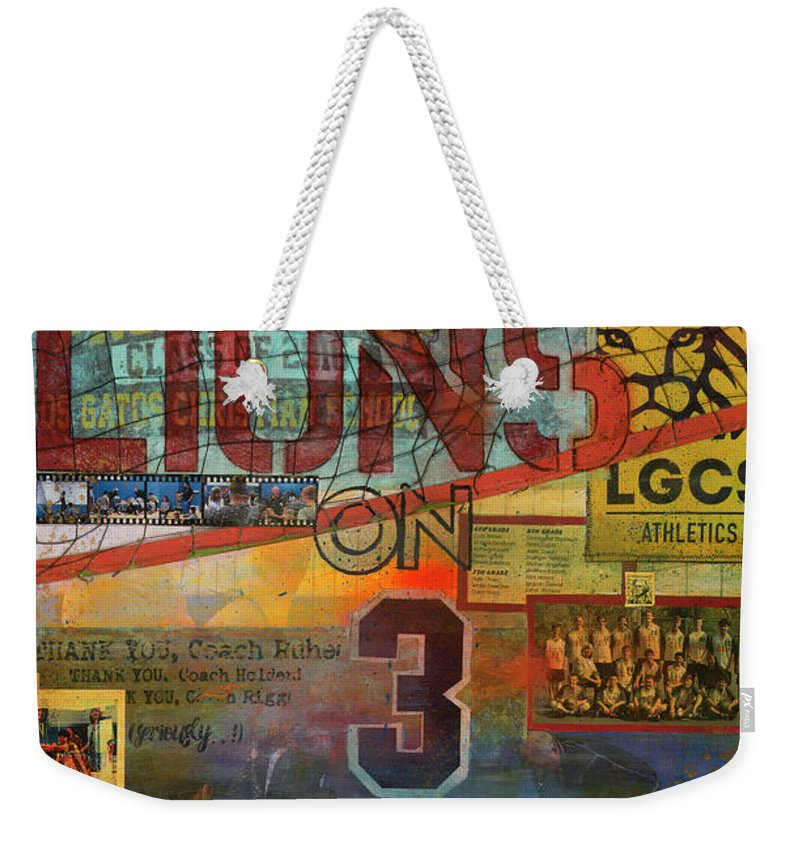 Sports - Art Commission Mixed Media Painting - Weekender Tote Bag