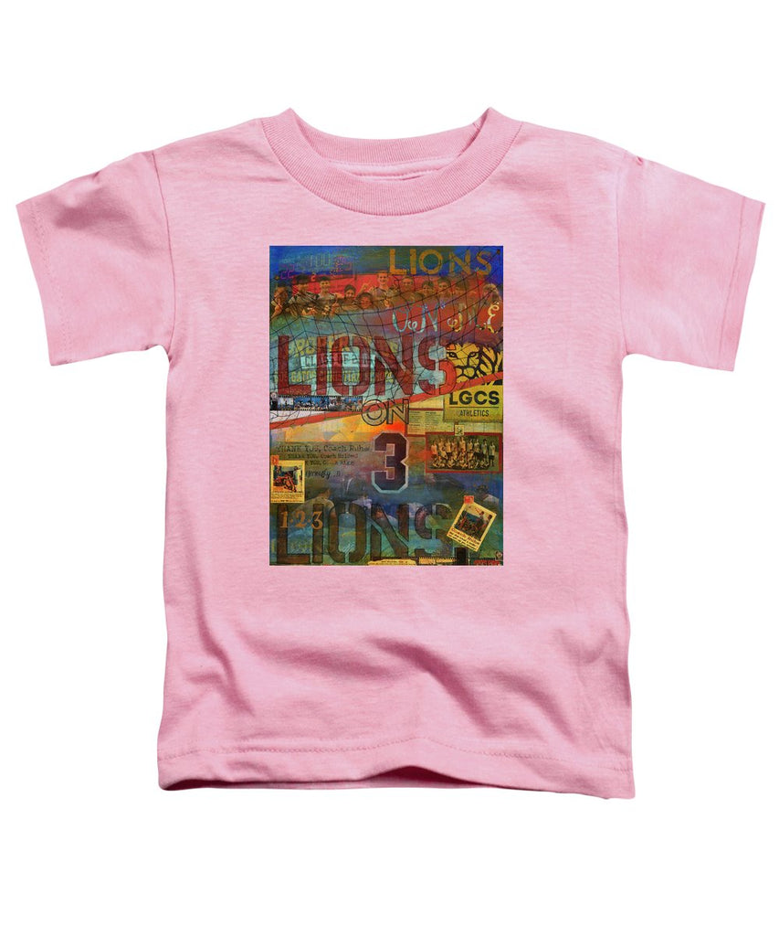 Sports - Art Commission Mixed Media Painting - Toddler T-Shirt