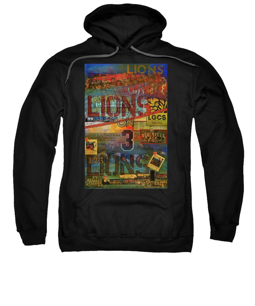 Sports - Art Commission Mixed Media Painting - Sweatshirt