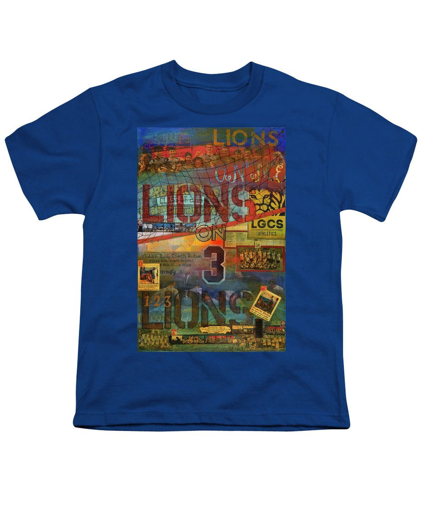 Sports - Art Commission Mixed Media Painting - Youth T-Shirt