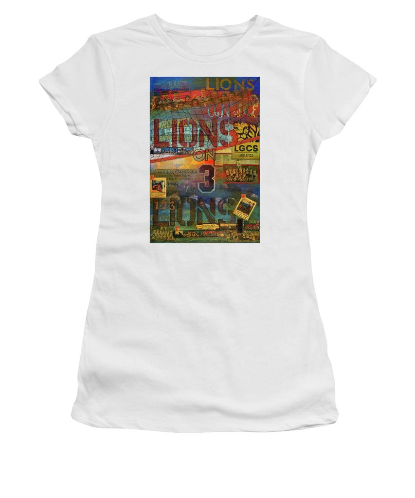 Sports - Art Commission Mixed Media Painting - Women's T-Shirt