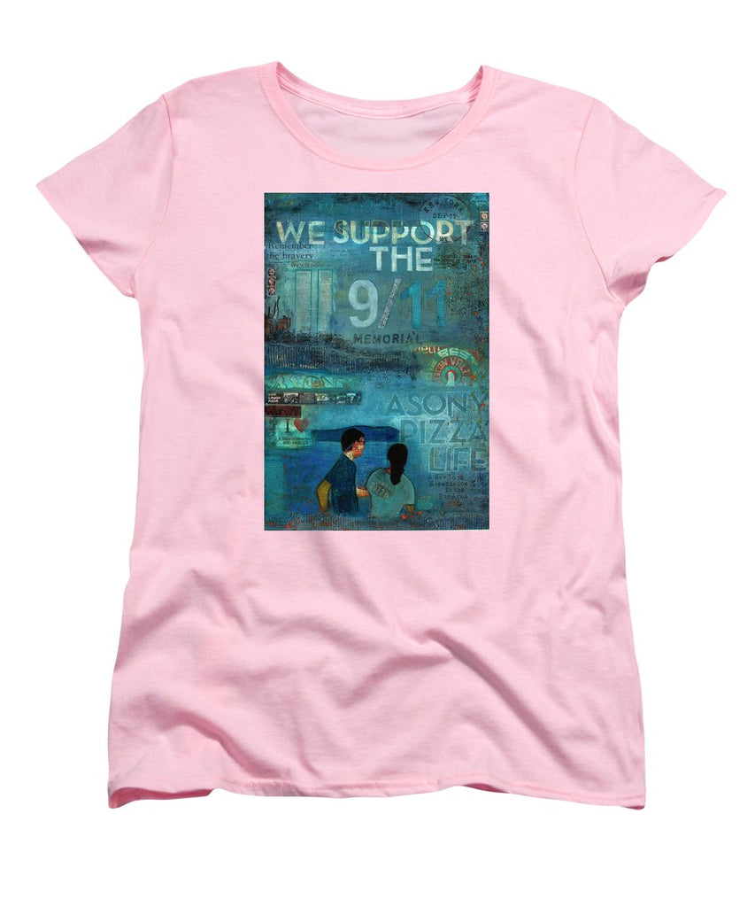 Tribute To Nyc Sept 11 Twin Towers - Women's T-Shirt (Standard Fit)
