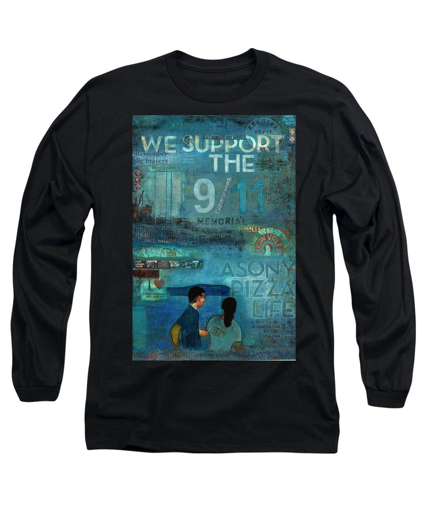 Tribute To Nyc Sept 11 Twin Towers - Long Sleeve T-Shirt