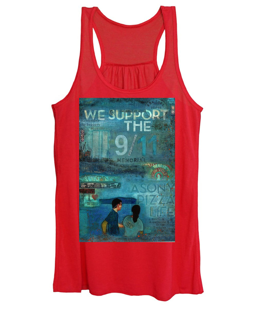 Tribute To Nyc Sept 11 Twin Towers - Women's Tank Top