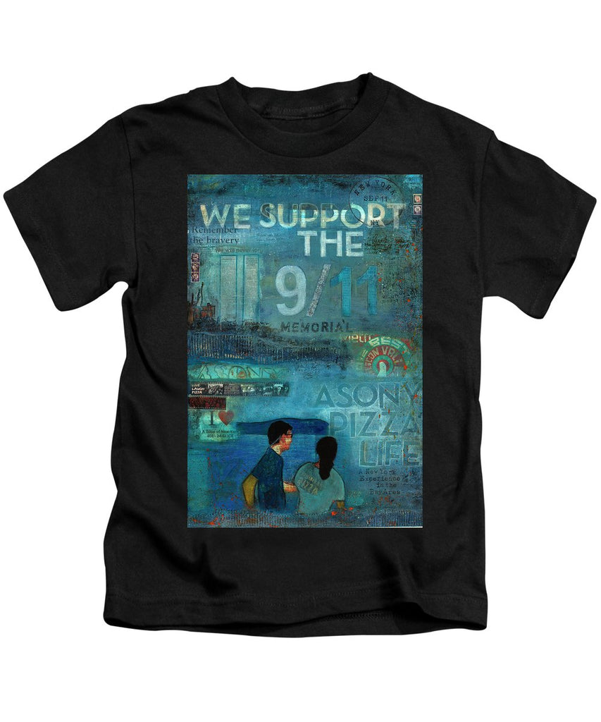 Tribute To Nyc Sept 11 Twin Towers - Kids T-Shirt