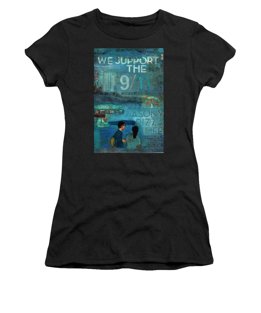 Tribute To Nyc Sept 11 Twin Towers - Women's T-Shirt