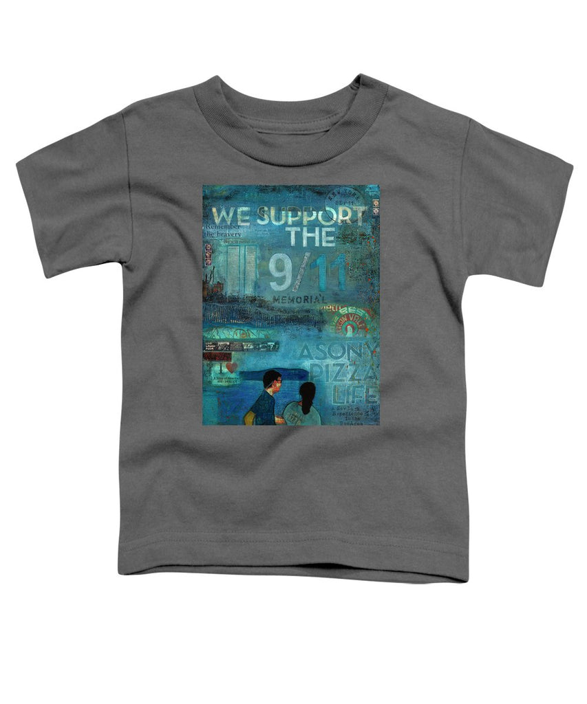 Tribute To Nyc Sept 11 Twin Towers - Toddler T-Shirt