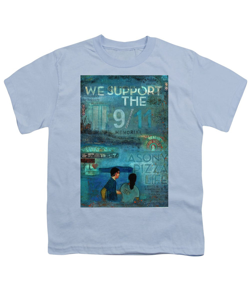 Tribute To Nyc Sept 11 Twin Towers - Youth T-Shirt