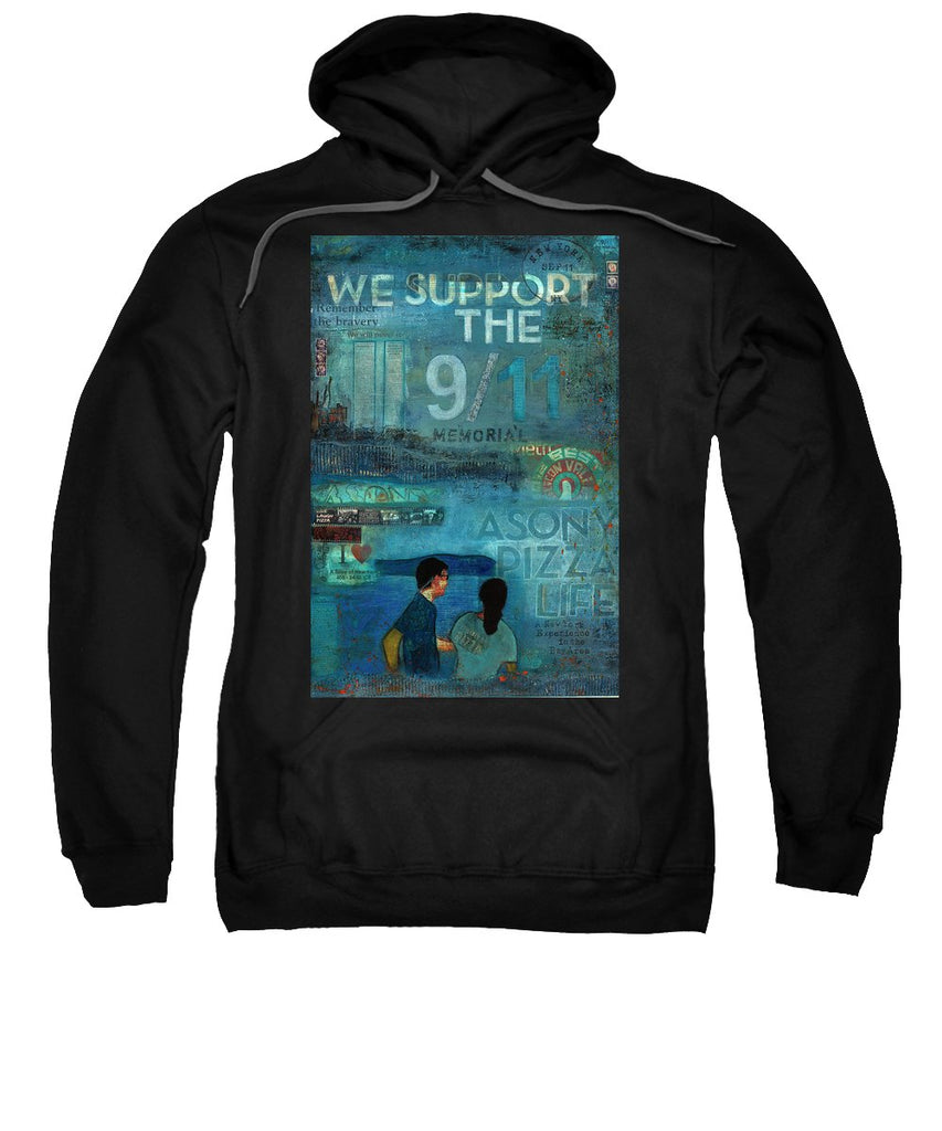 Tribute To Nyc Sept 11 Twin Towers - Sweatshirt