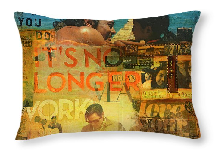 When You Love What You Do - Jocelyn Cruz Art Commission - Throw Pillow