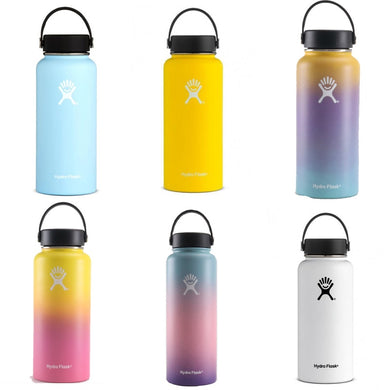Assorted Hydro Flask Stainless Steel Water Bottles - Insulated 40oz/32oz/18oz