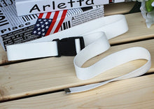 Load image into Gallery viewer, Trendy Canvas Belt with Plastic Buckle - Assorted Colours