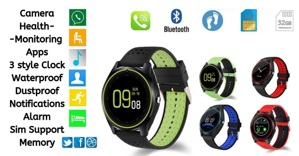 Untold Benefits of A Bluetooth Android Camera Smartwatch