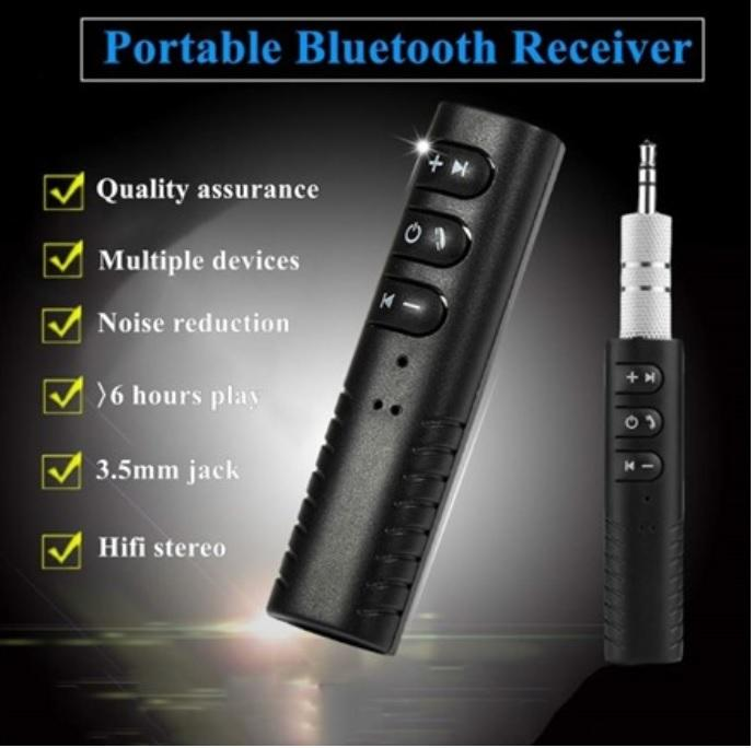 Universal TOP QUALITY Wireless Bluetooth Receiver Kit For Easy Hands Free Listening Anywhere