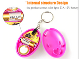 Self Defense Egg Shape Keychain