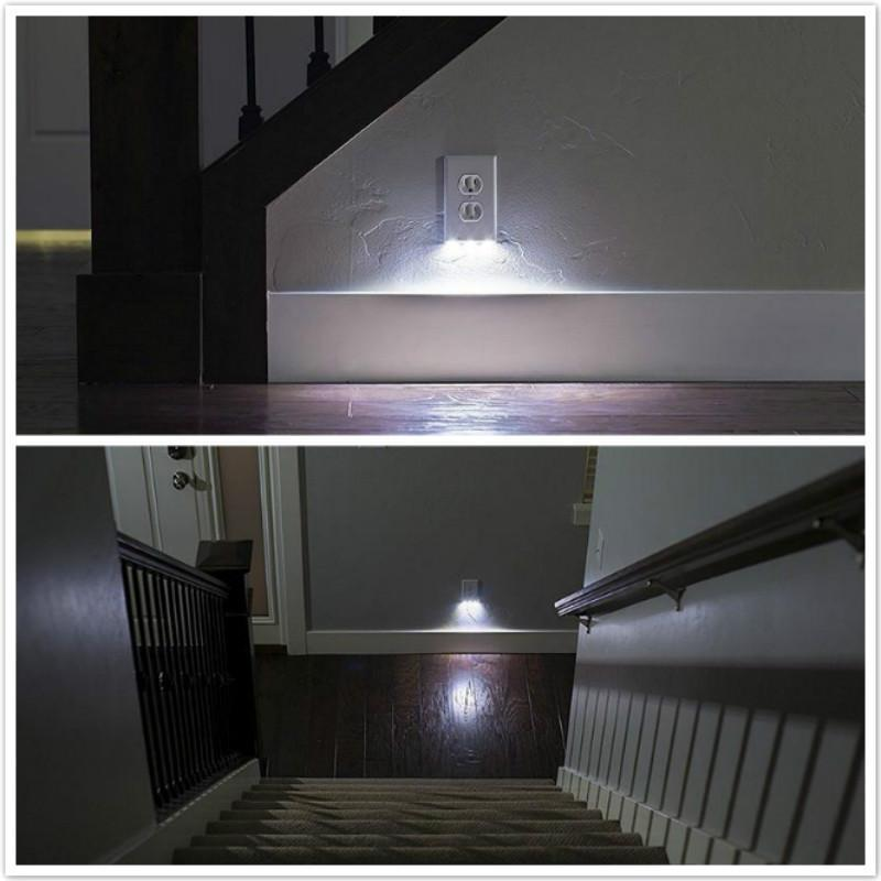 New Led Lighted Socket Plate