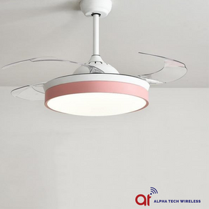 Modern Ceiling Fan with Lights For Home Remote Control Ceiling Fan