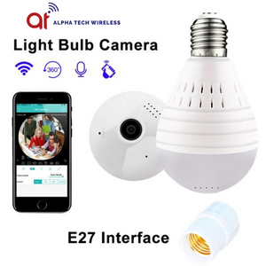 Mini WiFi Night Vision Camera Bulb