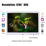 "15"" LED Digital Photo Frame with Multi-function Touch Screen"