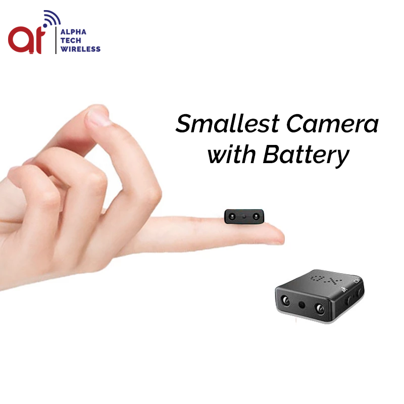 XD Mini Camera HD With Battery