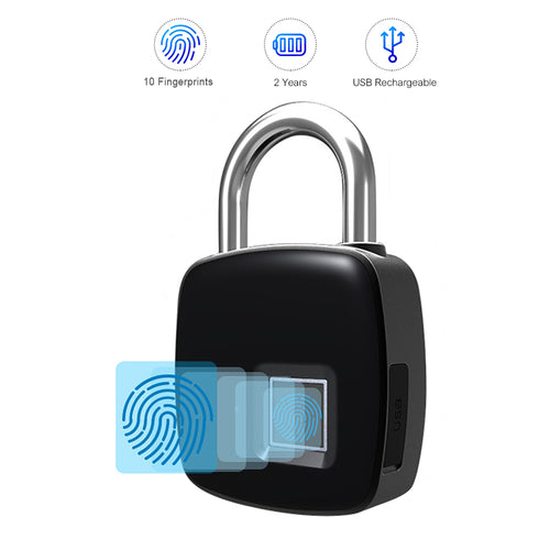Waterproof Smart Lock Key-less Fingerprint