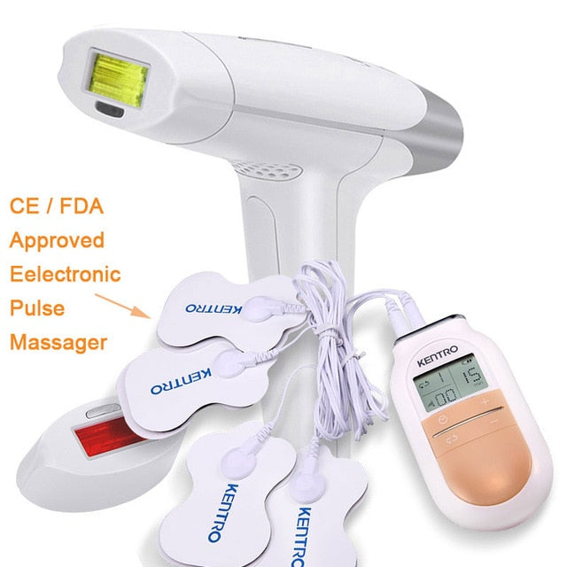 2 in 1 Laser Hair Removal Machine