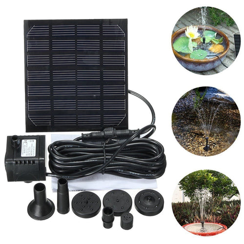 1.5w Solar Garden Fountain Waterpump
